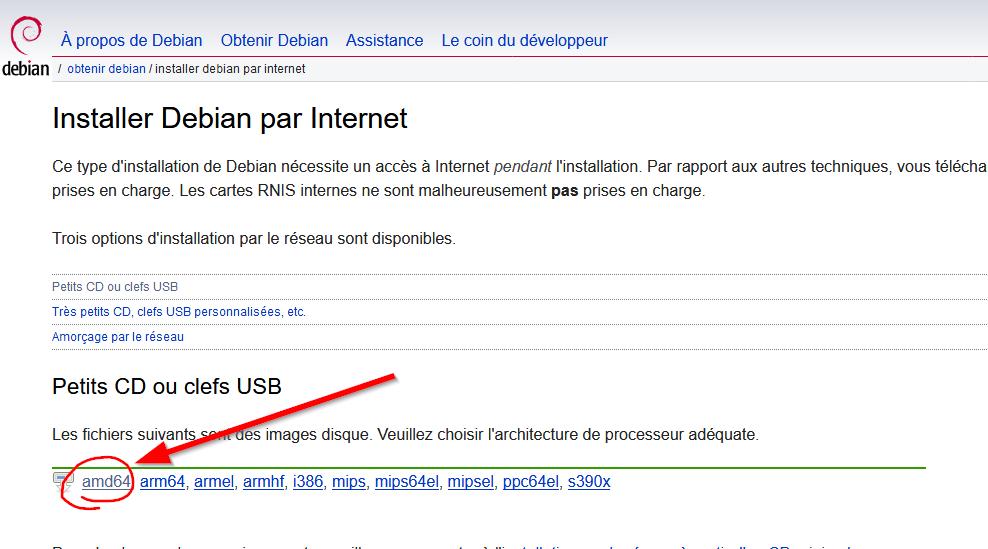 telecharger Debian