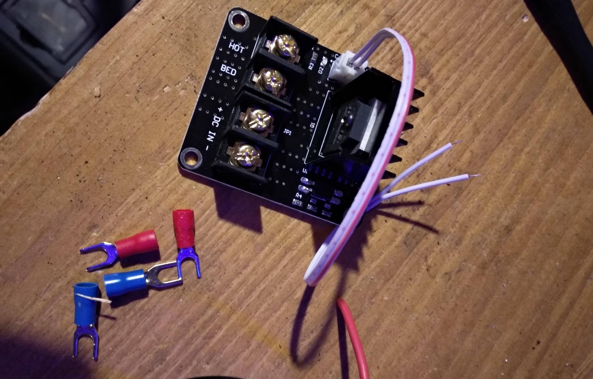 Comment et pourquoi installer des MOSFET  sur une imprimante 3D Anet A8 ?