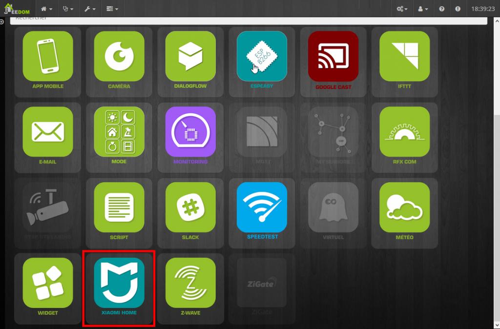 Plugin Xiaomi pour Jeedom