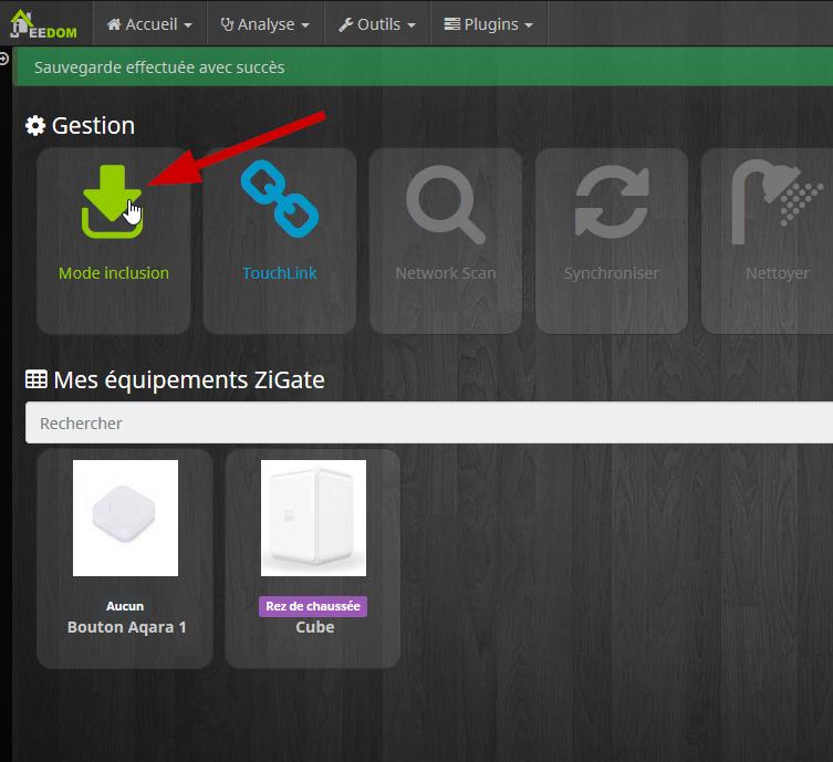 ajout de capteurs Xiaomi dans Jeedom avec Zigate