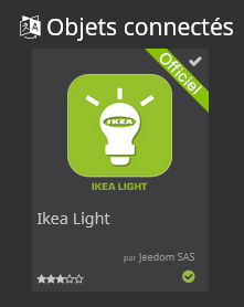 Plugin Jeedom IKEA Light
