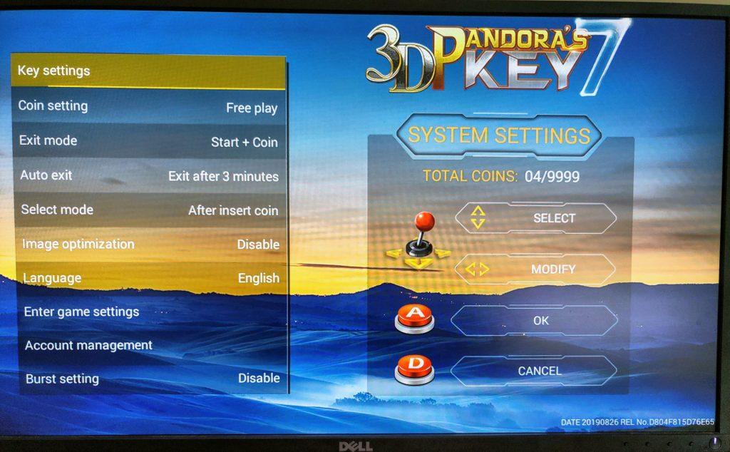 3D Pandora's Key 7