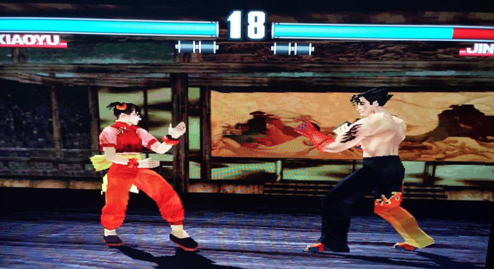 Tekken 3 sur Pandora
