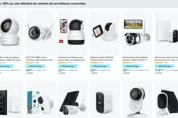 Prime Day - Bons plans sur les caméras de surveillance