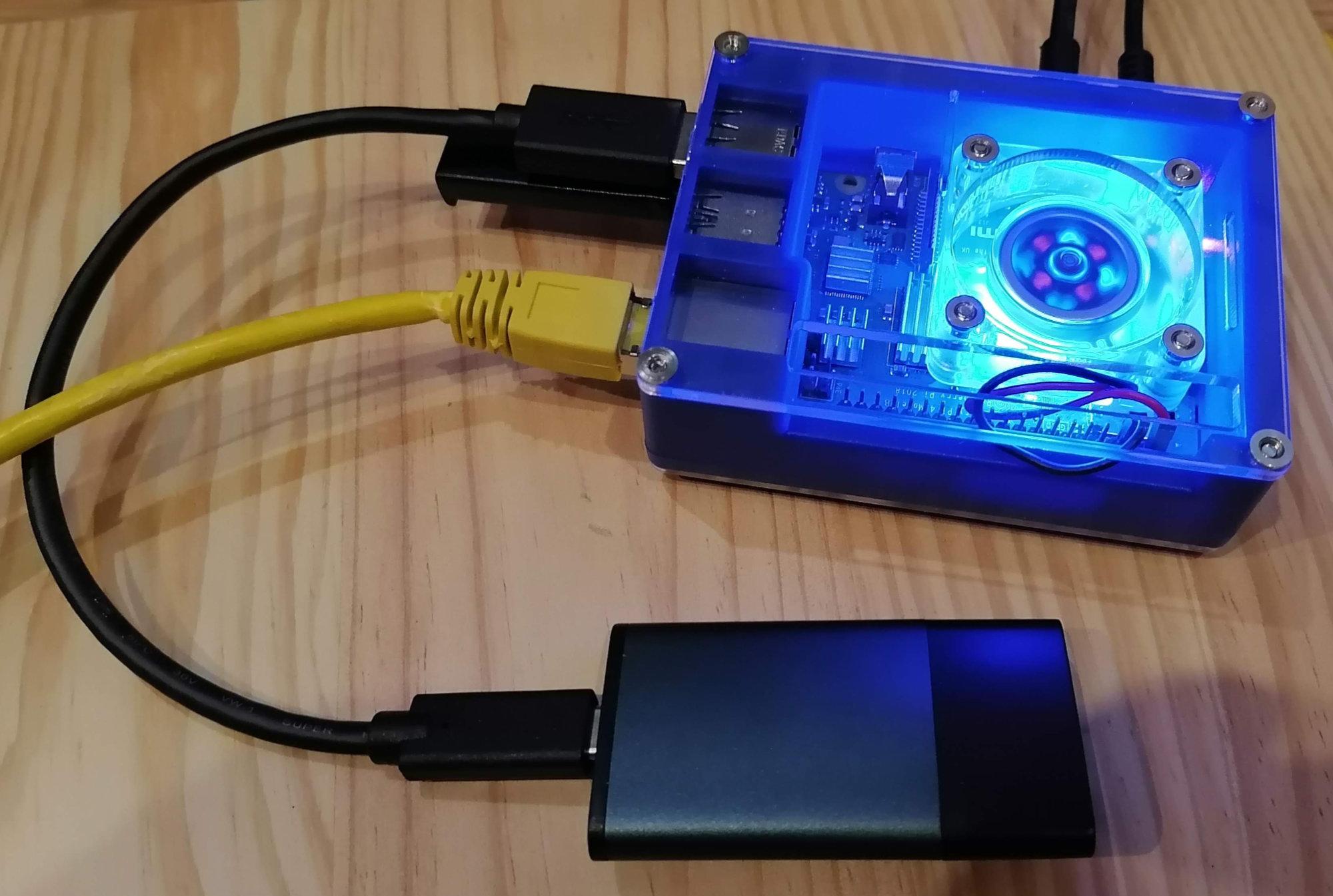 Booter un Raspberry Pi 4 sur un disque dur / SSD connecté en USB