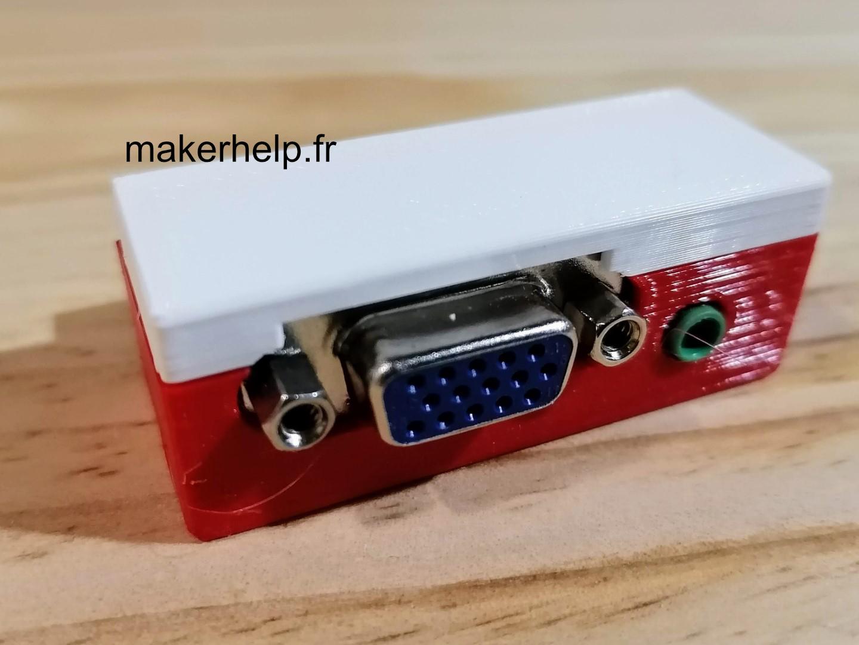 Comment connecter un écran VGA sur le Raspberry Pi 400 ?