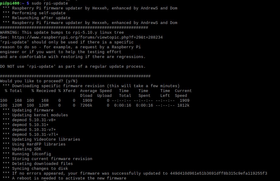 Comment mettre à jour le firmware d'un Raspberry Pi ?