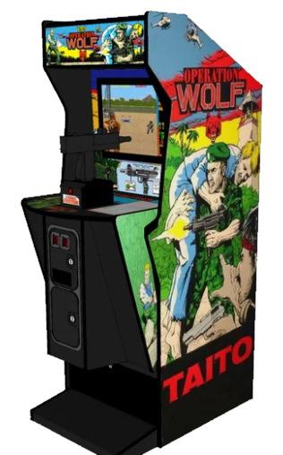 Operation Wolf, version Arcade